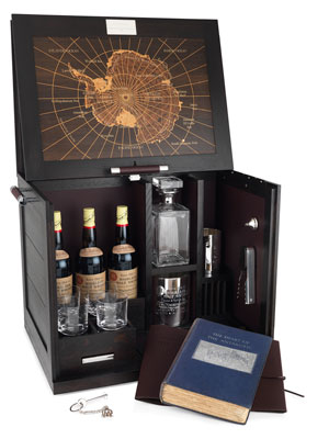 Antarctica whiskey cabinet ($56,500) by Alfred Dunhill