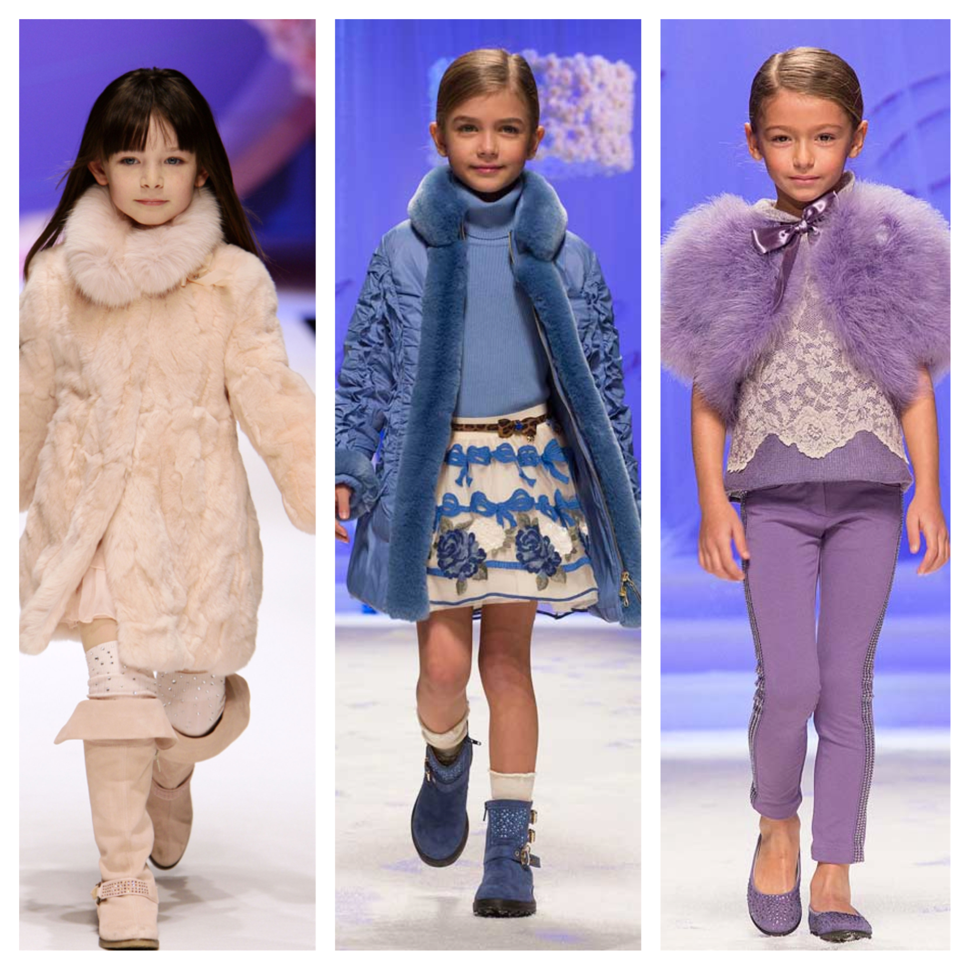 Blumarine kids Fall/Winter 2014-15 collection