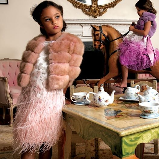 Dennis Basso Kids Winter 2015 Collection
