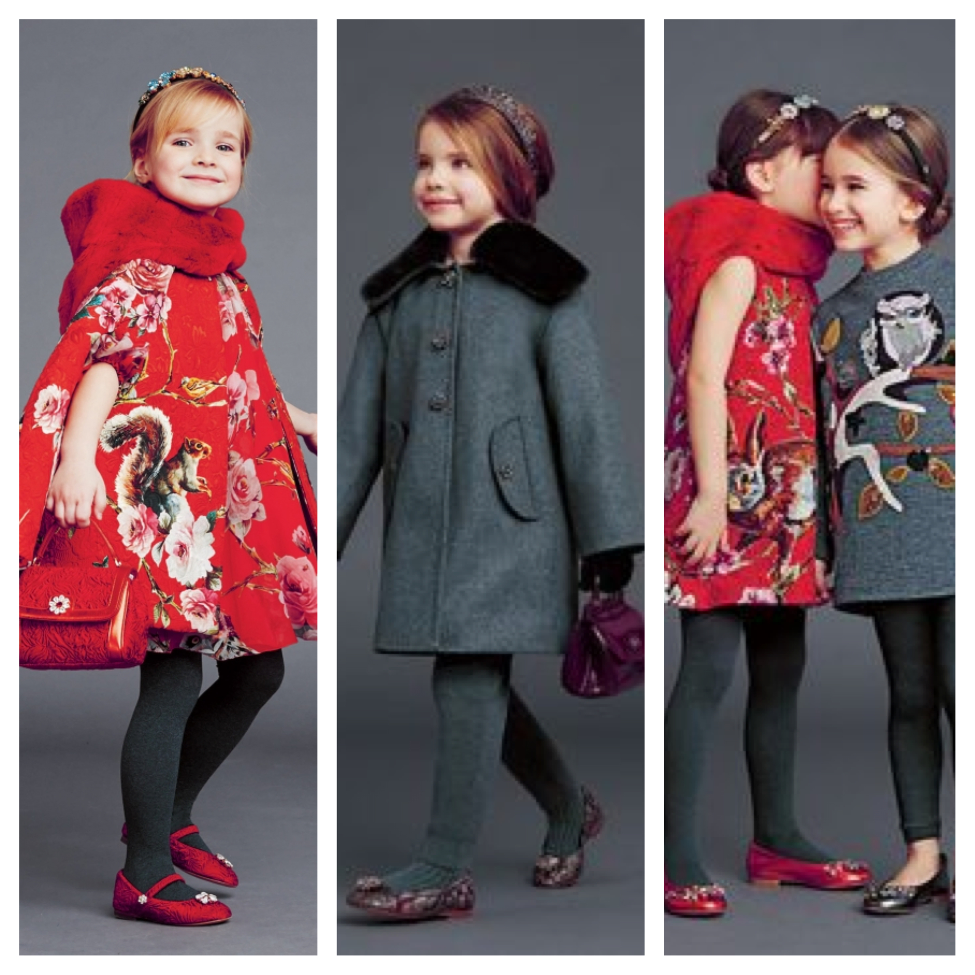 Dolce & Gabanna kids fall/winter 2014-15 collection