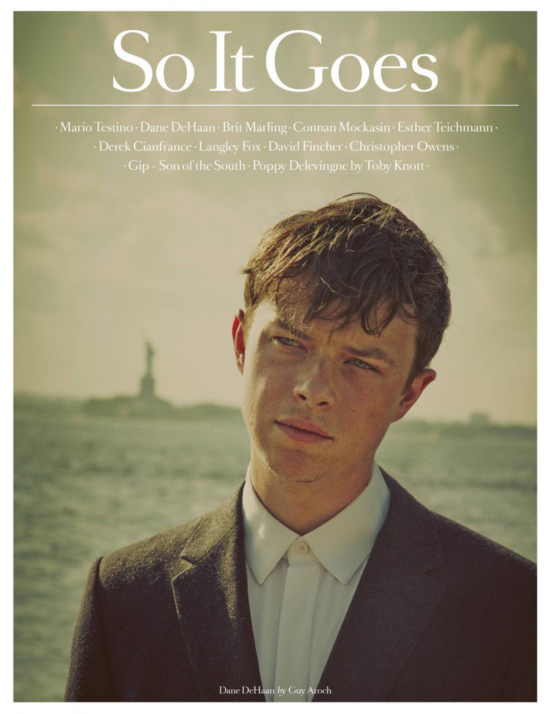 Dane DeHaan for SO IT GOES Magazine