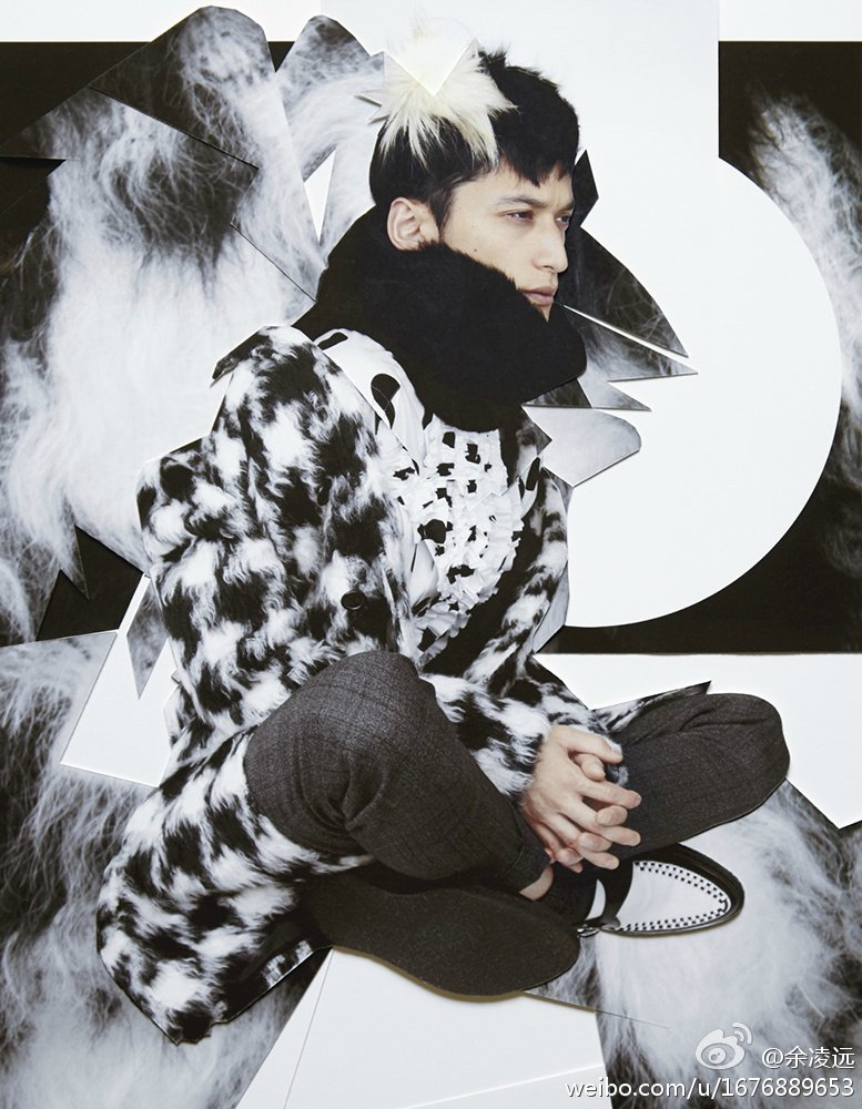 Hideki Asahina are Clad in Furs for FHM Collection China, fall-winter 2014 edition