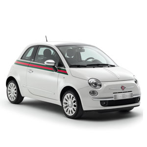 Fiat 500 (From $16,000, by special order) by Gucci