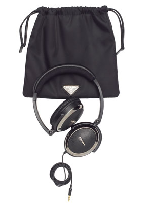 Headphones ($595) by Prada