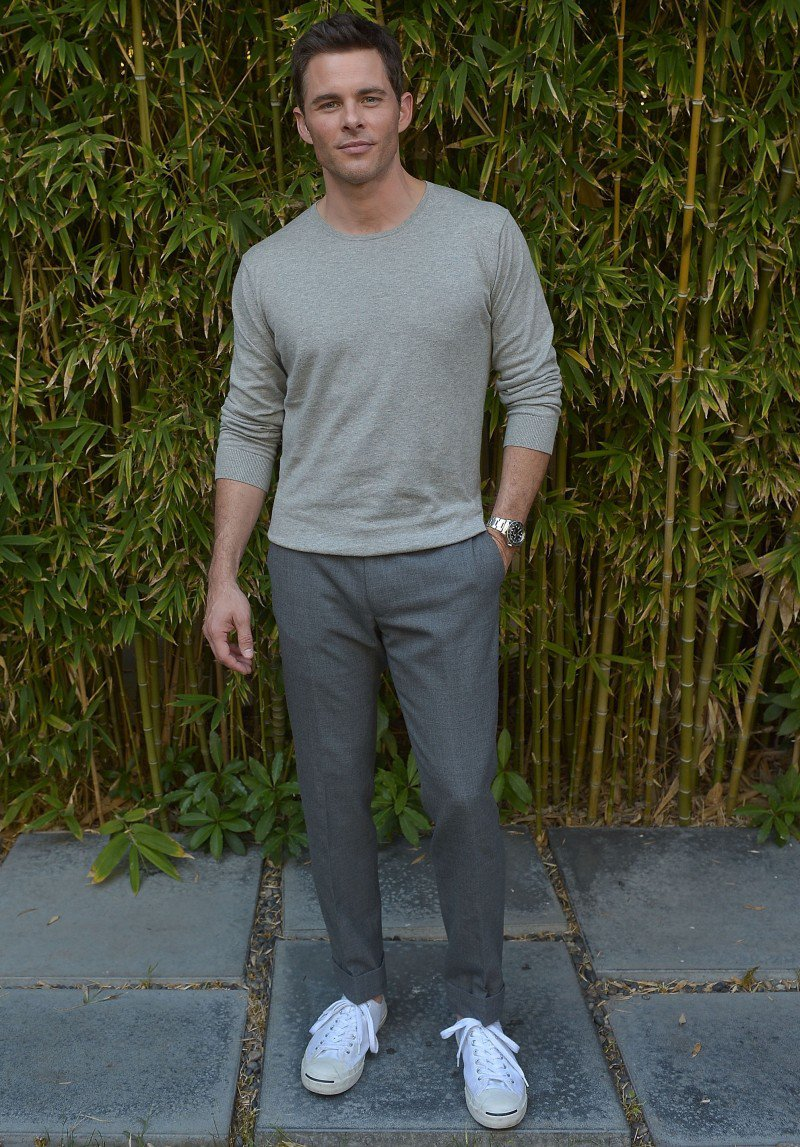 James Marsden models for GANT Rugger Spring-Summer 2015