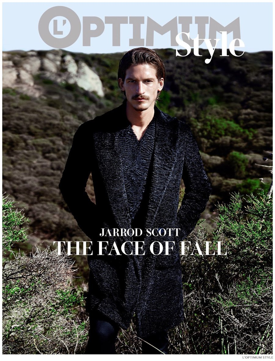 Jarrod Scott covers L'Optimum Style, fall-winter 2014 edition