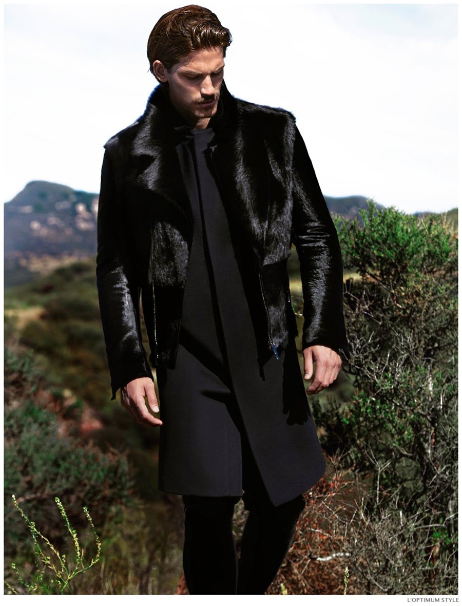 Jarrod Scott for L'Optimum Style, fall-winter 2014 edition