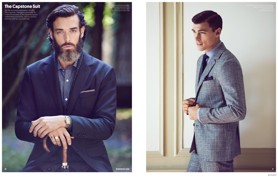 Pages from the Bonobos Fall 2014 catalogue