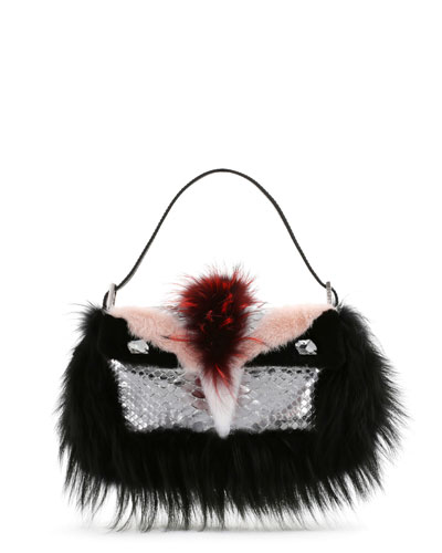 Python & Fur Monster Baguette ($6,600.00) by Fendi