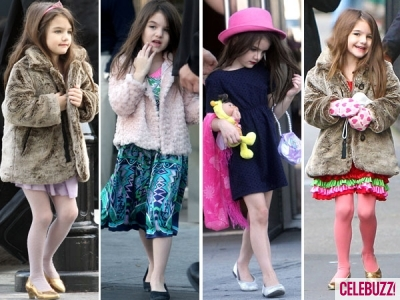 Some of the many fashion-forward looks from Suri Cruise