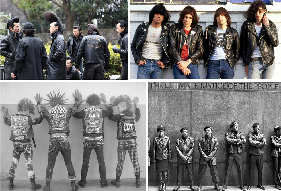 The leather jacket and its subversive social past