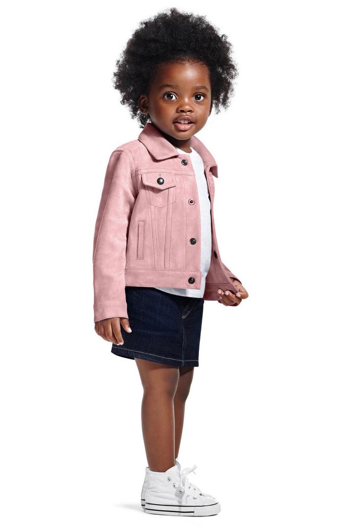 Tom Ford - Pale Pink denim jacket in lightweight suede ($2,960)