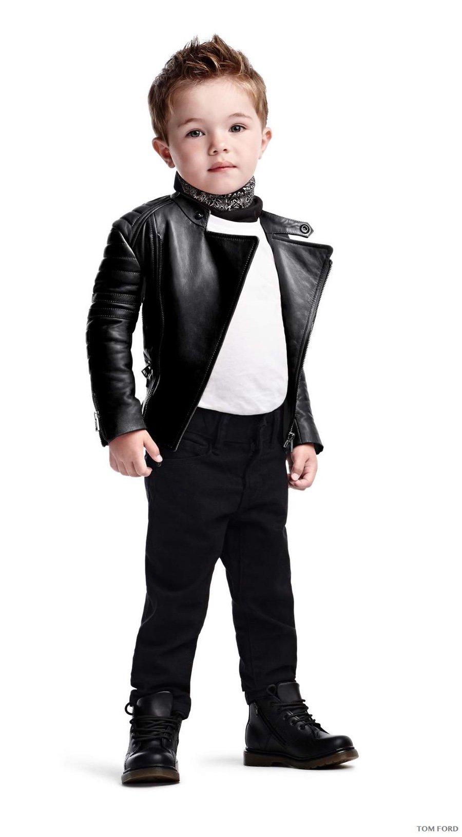 Tom Ford - Biker jacket in rubbed plonge ($4,470)