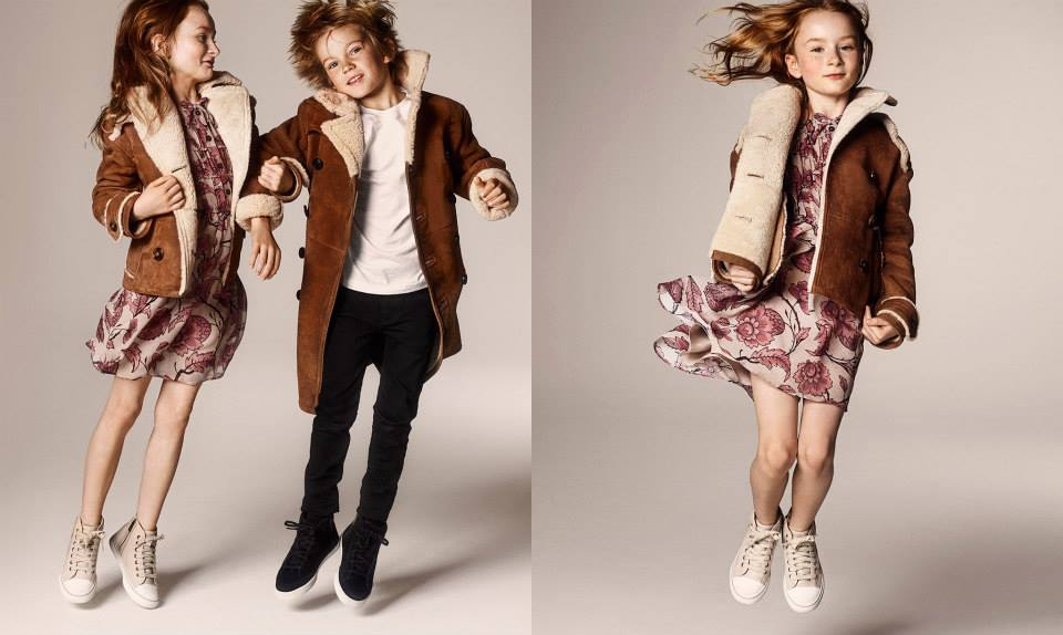 Burberry kids Autumn/ Winter 2014-15 collection