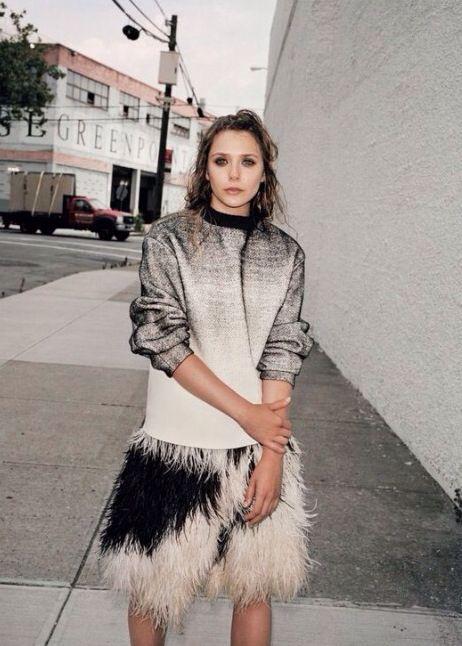 Actress Elizabeth Olsen has got some serious street style