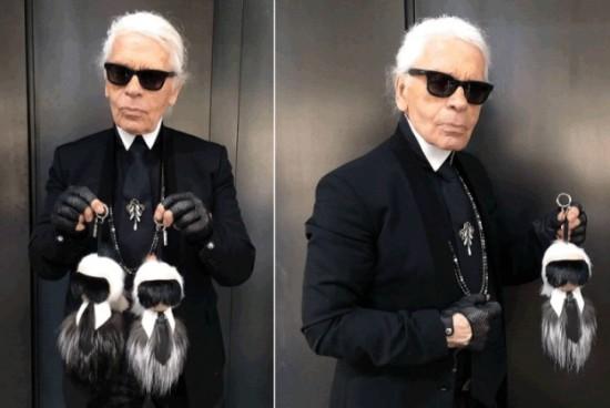 Fendi Bags Karl Lagerfeld : the iconic charm Bag Boy Karlito