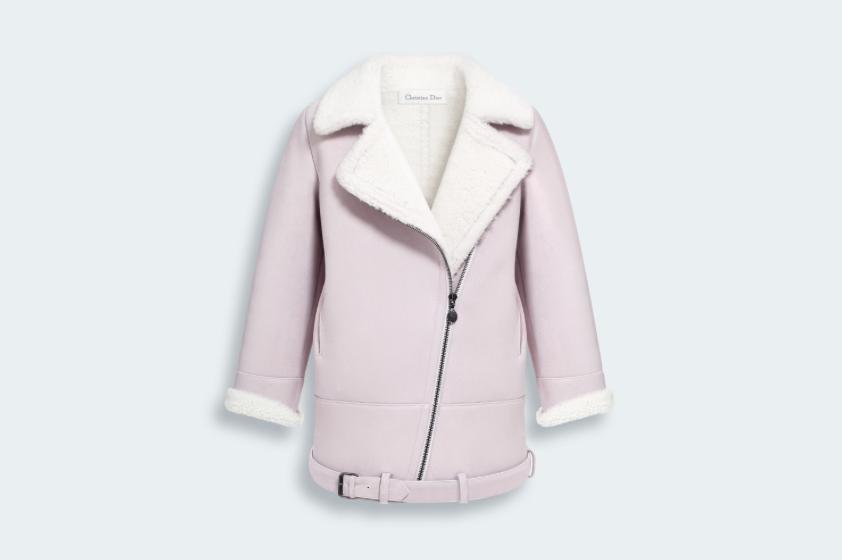 Long Sheepskin Coat - Baby Dior - Fall 2014-Winter 2015