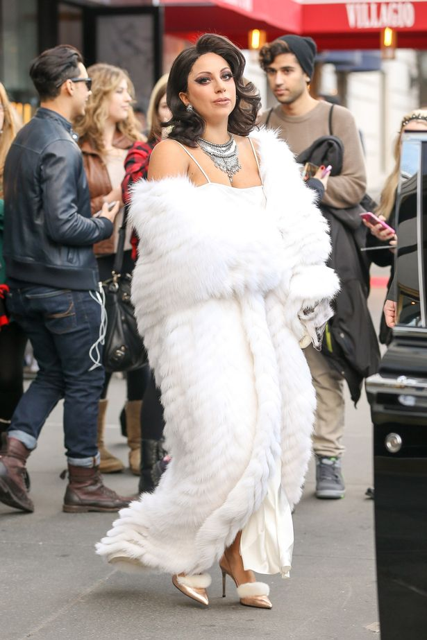Lady Gaga is the epitome of a lady as she heads to the  Rockefeller Center Christmas Tree Lighting earlier this month