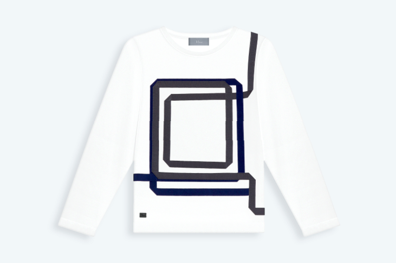 T-Shirt Cotton Jersey for boys - Baby Dior - Fall 2014-Winter 2015