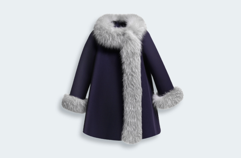 Wool, Cashmere and Fur Coat - Baby Dior - Fall 2014-Winter 2015