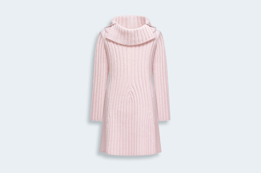 Wool and Cashmere Tricot Knit Dress - Baby Dior - Fall 2014-Winter 2015