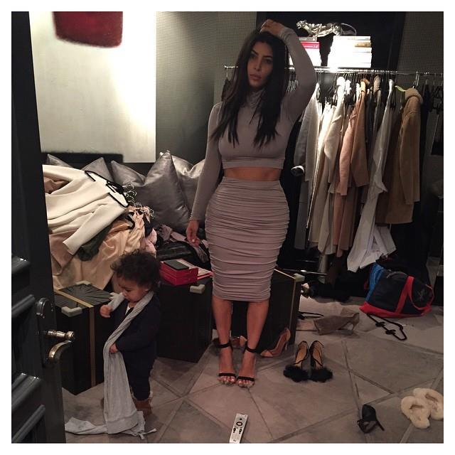 Take comfort in knowing that even Kim Kardashian struggles trying to pick the perfect outfit