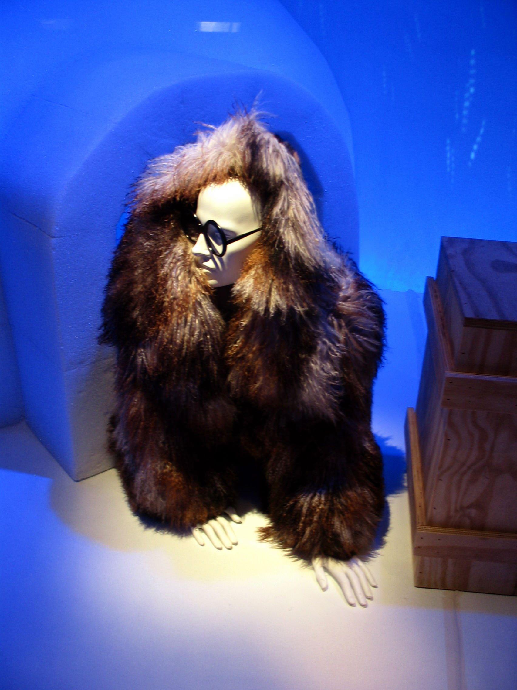 Rara Avis: Selections from the Iris Barrel Apfel Collection - Fendi Mongolian Lamb jacket with petit-gris