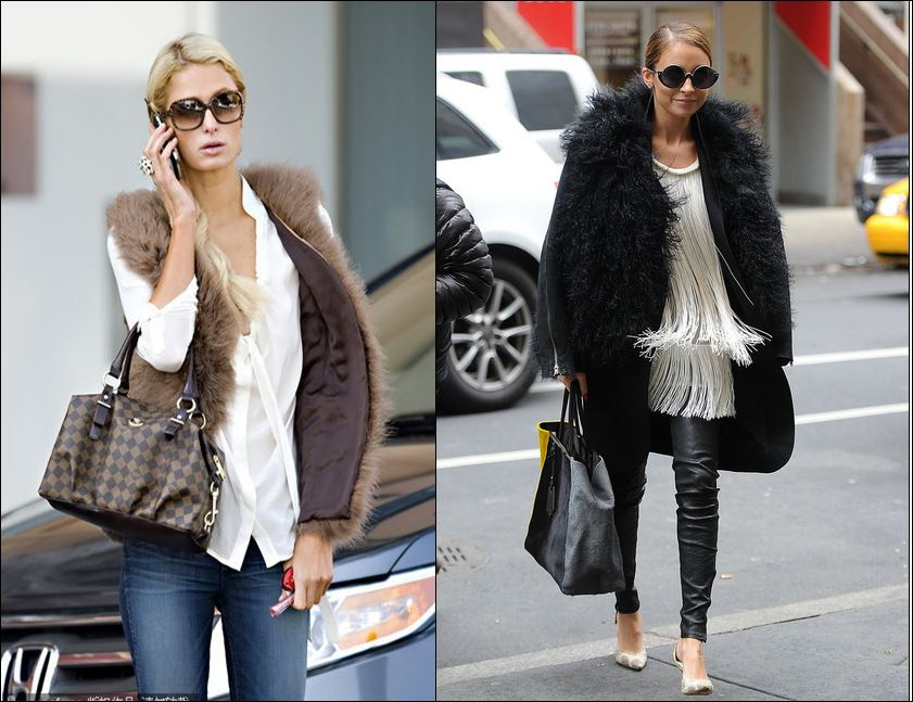 Reality stars Paris Hilton and Nicole Richie will always be the best dressed BFFs in our mind
