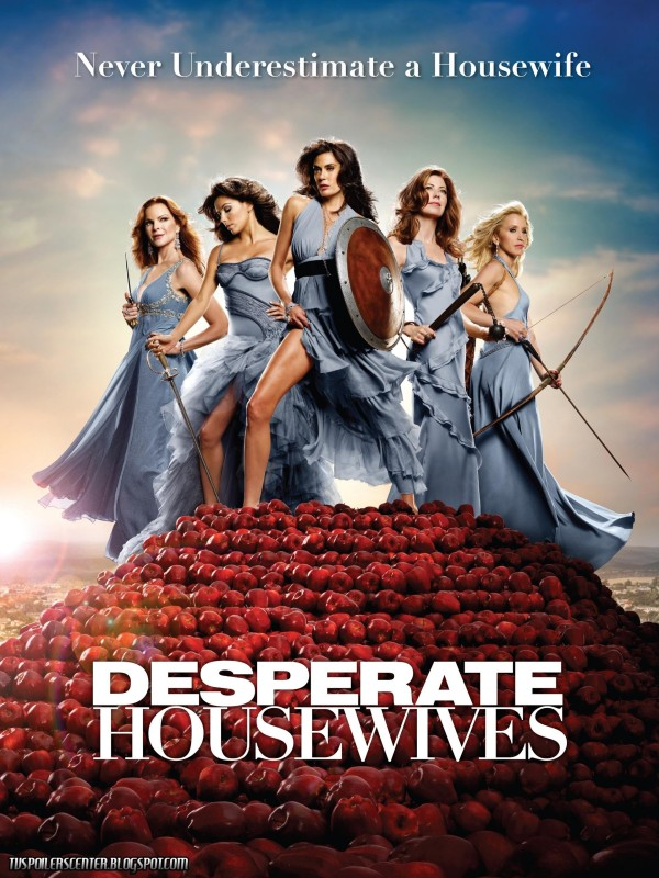 The popularity of the show Desperate Housewives which ran from 2004 - 2012 started the voyeuristic fascination of the  wealthy pampered housewife.
