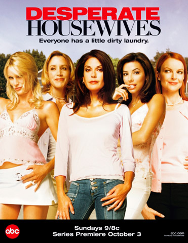 Desperate Houswives was an instant hit for ABS because of its beautiful ensemble cast and scandalous plot lines