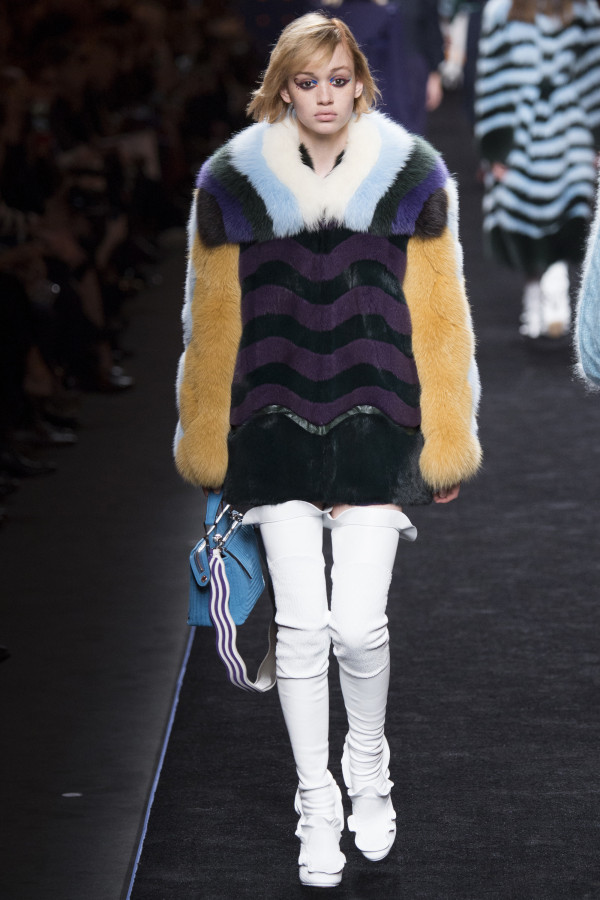 Fendi Fall 2016 - Winter 2017