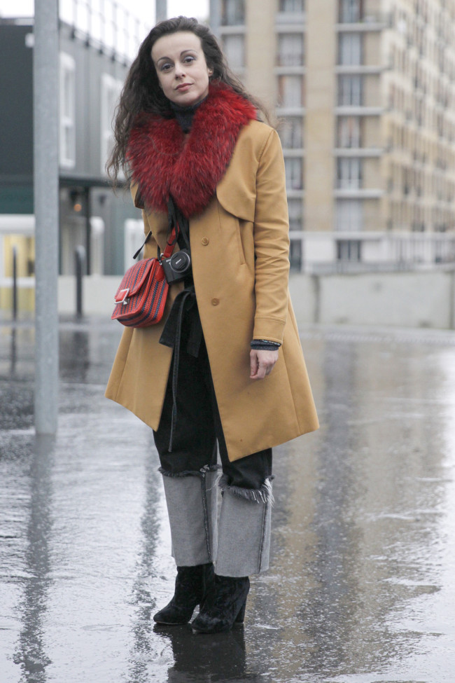 Street style - Paris RTW fall winter 2016 - March 2016