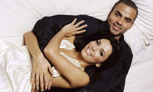 Tony Parker and Eva Longoria in happier times