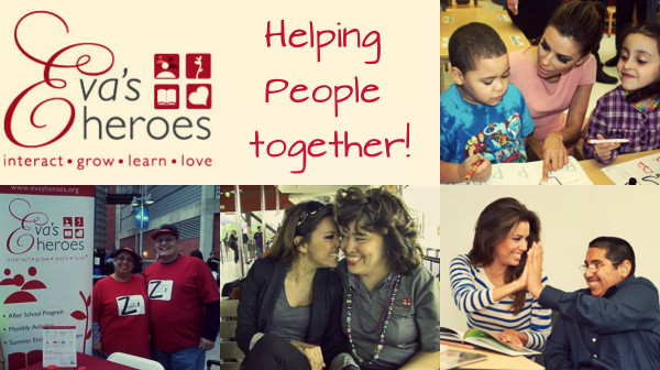 """Eva's Heroes, co-founded by actress Eva Longoria, is an organization dedicated to enriching the lives of individuals with intellectual special needs by providing an inclusive setting built on four tenets: interact, grow, learn, and love. Based in San Antonio, Texas, the organization helps teens and young adults with special needs to integrate and flourish in society."""