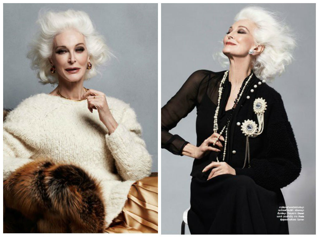 Carmen Dell'Orefice -