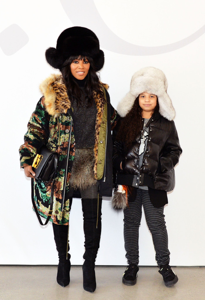 Celebrity stylist June Ambrose and her daughter Summer Chamberland hit up the Fall 2016 runway shows in NYC earlier this year.