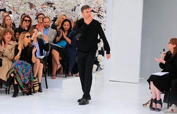 Dior says creative director Raf Simons leaving French fashion house for personal reasons