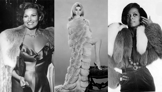 Famous-Faces-In-Fur-Fashion-1960s-1970s-1980s
