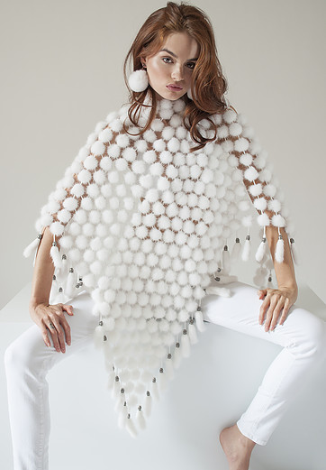 A poncho by Adrienne Landau is perfect for Spring/Summer coverage