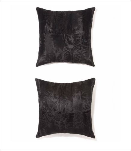 A samples of lamb pillows sold by Pologeorgis