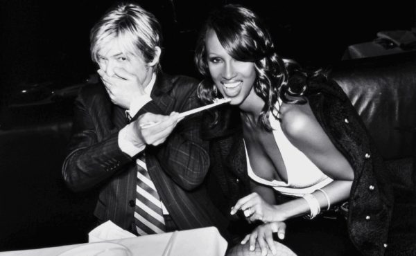 The world fell in love with the love story of the rock star and the model.... David Bowie and Iman