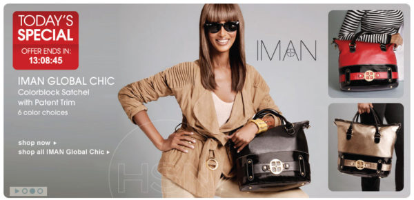 Iman's wildly successful Global Chic line for HSN is a network favorit