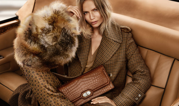AD CAMPAIGN: MICHAEL KORS FALL/WINTER 2015.16 NATASHA POLY BY MARIO TESTINO