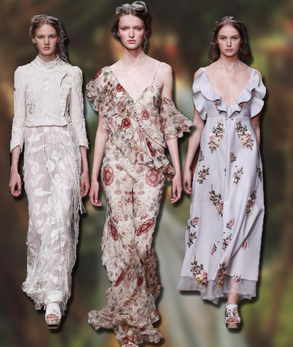 Alexander McQueen's Spring-Summer 2016