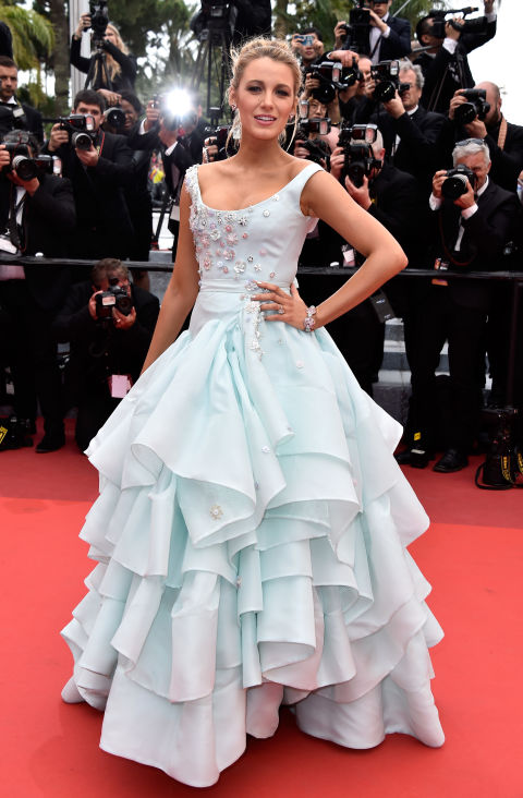 BLAKE LIVELY-Vivienne Westwood Couture
