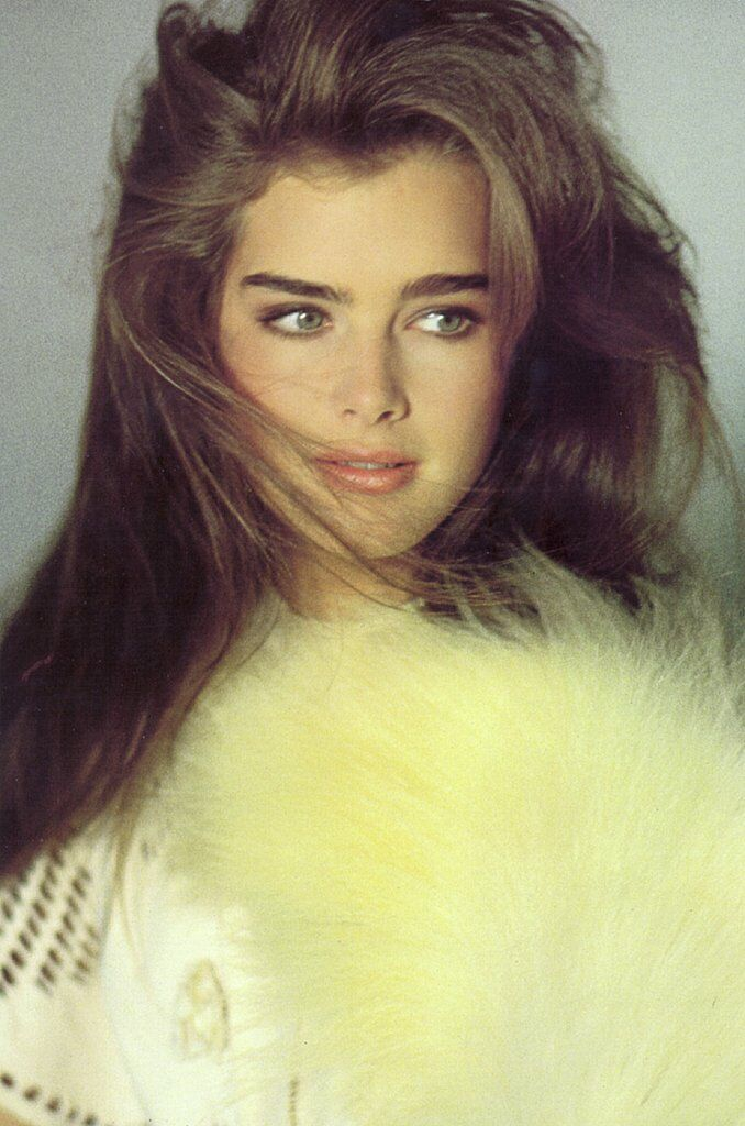 Brooke Shields for Harper's Bazaar Italia, 1981