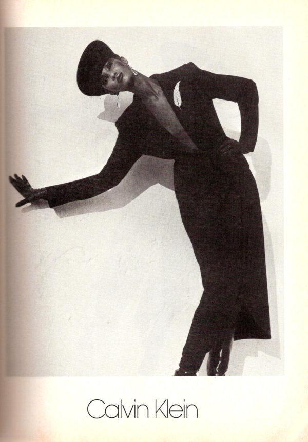 Iman for Calvin Klein, 1982