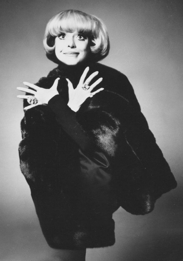 "Carol Channing ""What Becomes A Legend Most?"" Ad Campaign"