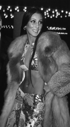 Cher in 1971 was a cultural icon and fashion muse for her time