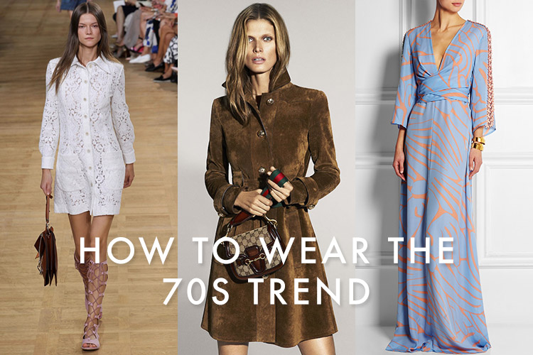 Designers are looking back to the 1970s for inspiration this year. First, it was one of the biggest trends from spring 2015 and now the fall 2015 previews